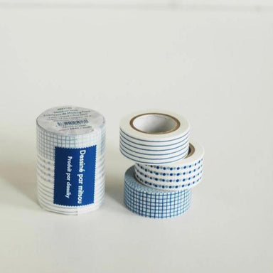 Classiky x mitsou Washi Tape Set - Blue 45635-02