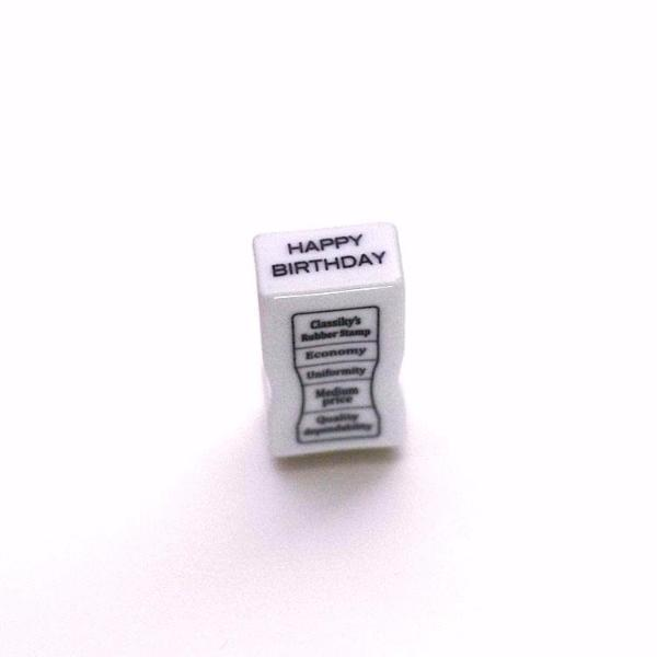Classiky HAPPY BIRTHDAY Porcelain Stamp, 20451-07