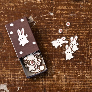 Classiky Match Box Flake Stickers - Rabbit 26333-05