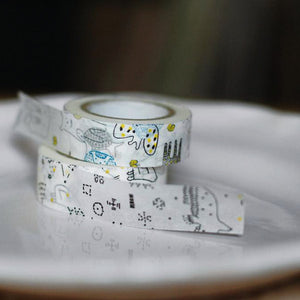 Classiky Animals and Stars Washi Tape 29927-01