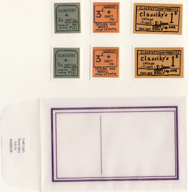 Discontinued Craft Log Stamp Seal, 45215-01