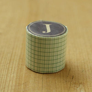 Classiky Green Grid Washi Tape 45019-18