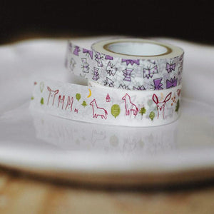 Classiky Forest and Butterfly Washi Tapes, 29927-04