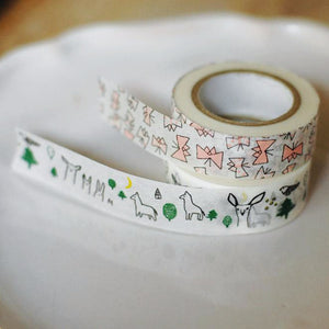 Classiky Forest and Butterfly Washi Tapes 29927-03