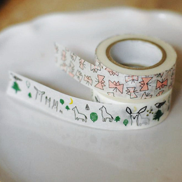 Forest and Butterfly Washi Tapes