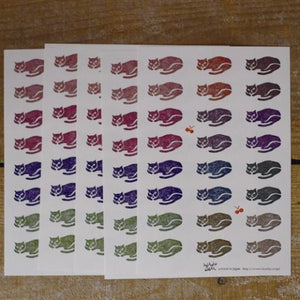 Classiky Cat Stickers, 45333-04