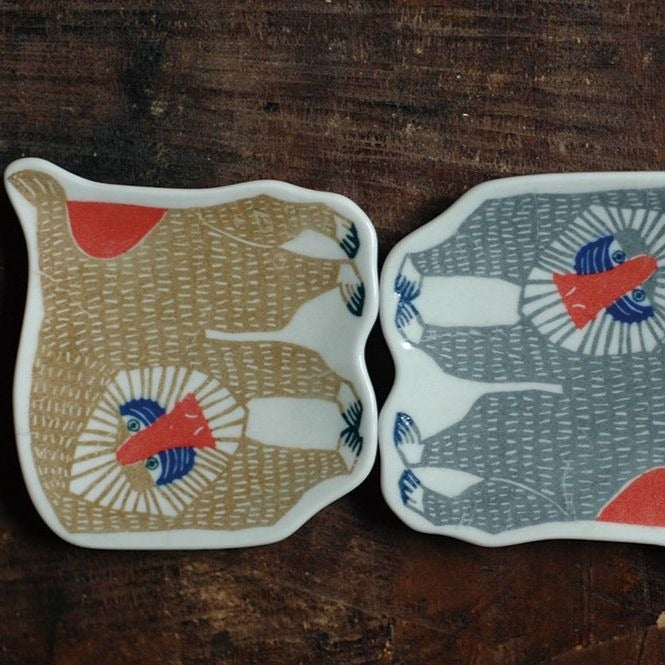 Ceramic Tray - Mandrill