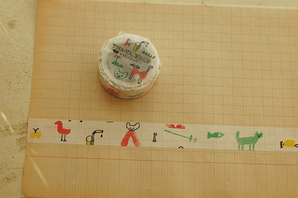 Washi Tape - Cat C