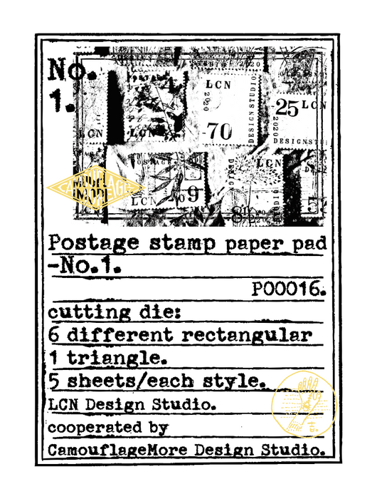 Postage Stamp Paper Set No.1