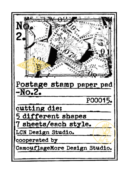 Postage Stamp Paper Set No.2