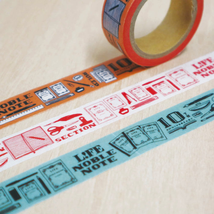 10th Anniversary Limited Edition Washi Tape - Asagi