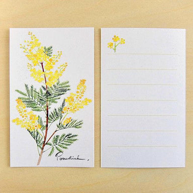 Mini Message Card - Mimosa