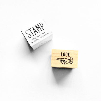 Rubber Stamp - LOOK