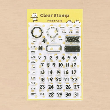 Limited Quantity Clear Stamps - Date