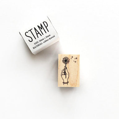 Rubber Stamp - Dandelion
