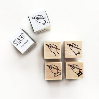 Rubber Stamp - Mini Writing Hand