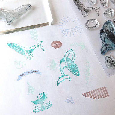 nonnlala Clear Stamps - Ocean