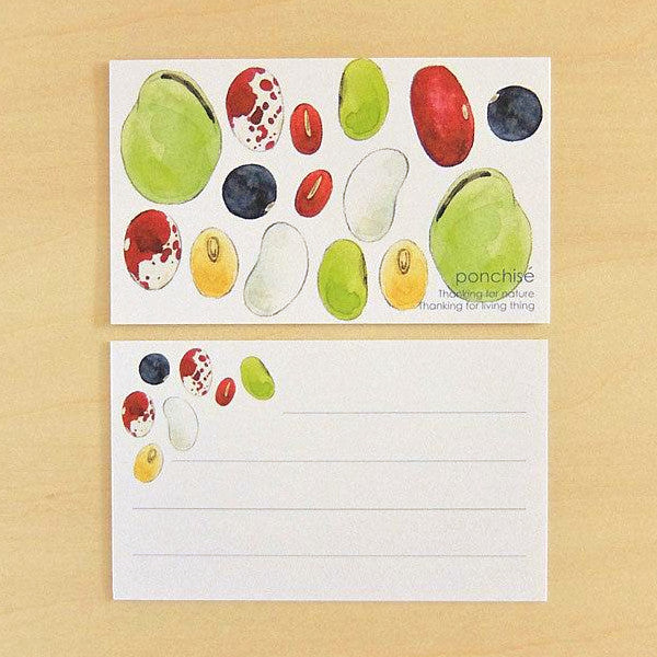 Note Card - Beans