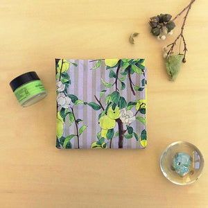 Yumi Imai Cotton Handkerchief - Chinese Quince