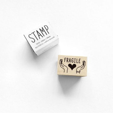 Rubber Stamp - Fragile