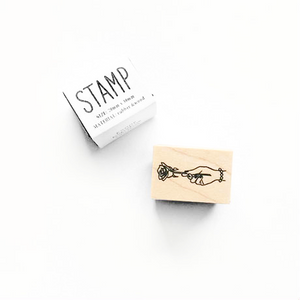 KNOOP Rubber Stamp - Rose