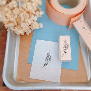 nonnlala Rubber Stamp - Botanical