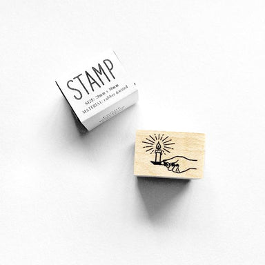 Rubber Stamp - Candle