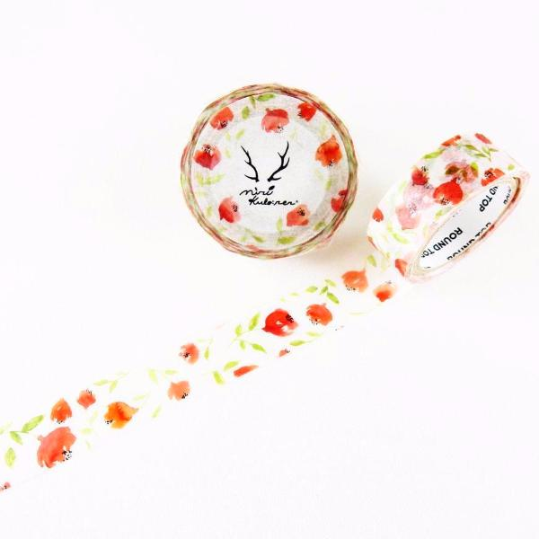 MiriKulo:rer Washi Tape - Flower MI-MK-016