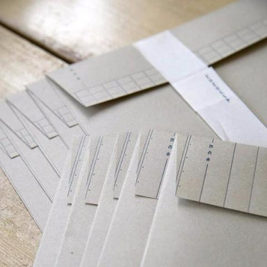 Letterpress Lined Envelopes