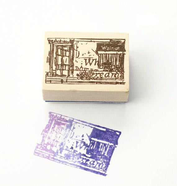 Discontinued Rubber Stamp - Scene D1