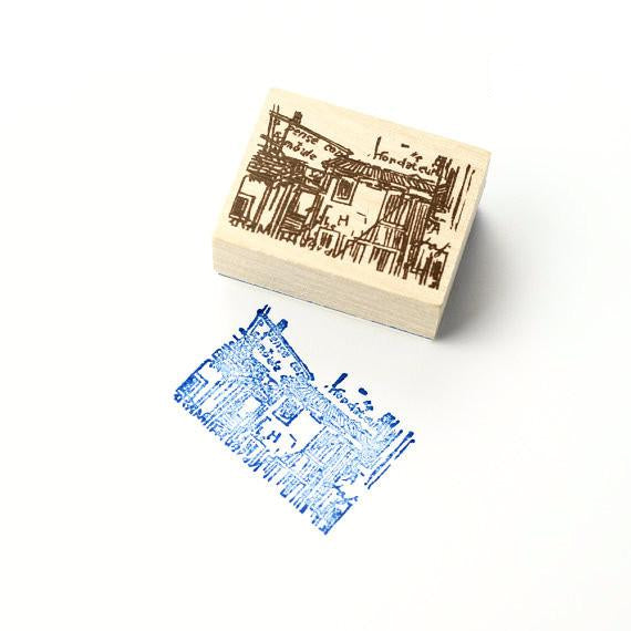 Discontinued Rubber Stamp - Scene D6