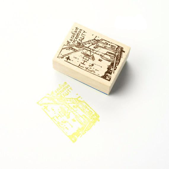 Discontinued Rubber Stamp - Scene D12