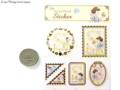 Alphabet Stickers - Snow White