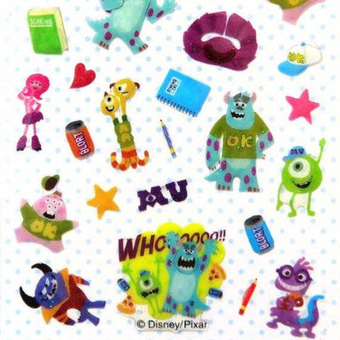 Monster's Inc Stickers