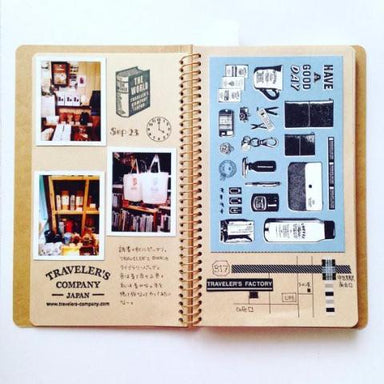 A5 Spiral Ring Notebook - Camel
