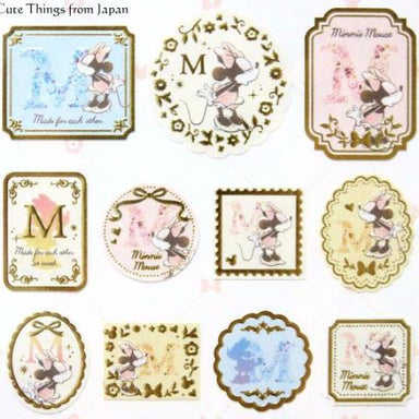 Alphabet Stickers - Minnie Mouse