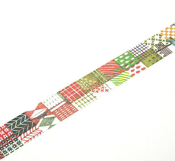 Discontinued Chamil Garden Washi Tape - Stone 030