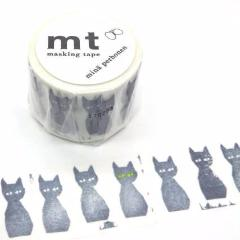 Washi Tape - Black Cat