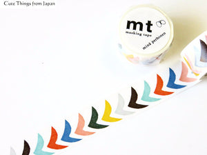 mt x Mina Perhonen Washi Tape - bird grande mix MTMINA27