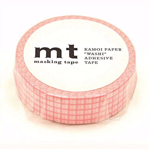 mt Washi Tape - Cherry Blossom Grid MT01D393