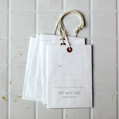 White Tag Envelopes (discontinued)