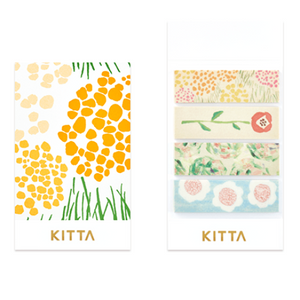 KITTA Stickers - Flower 022