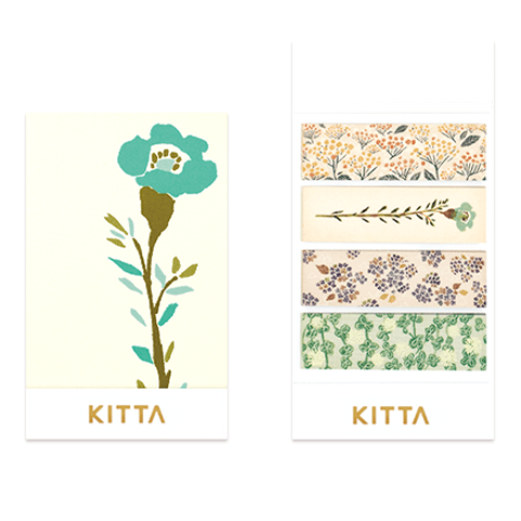KITTA Stickers - Flower 049