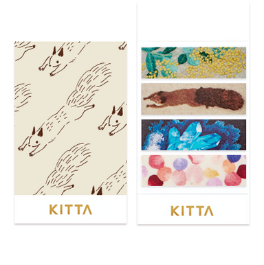 KITTA Stickers - Embroidery