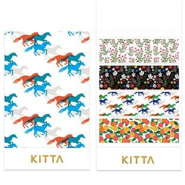 [Pre-order / Shipped on/after Sep. 30th] KITTA Stickers - Pattern
