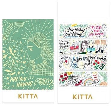 [Pre-order / Shipped on/after Sep. 30th] KITTA Stickers - Drawing