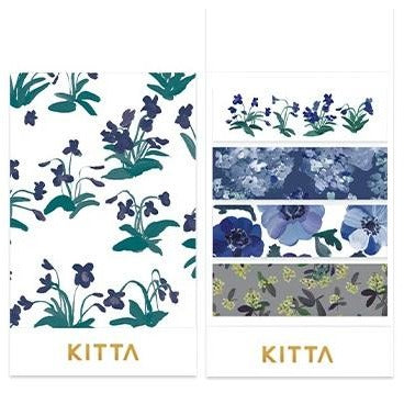 [Pre-order / Shipped on/after Sep. 30th] KITTA Stickers - Flower