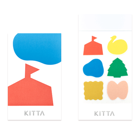KITTA Seal Stickers - Park D009
