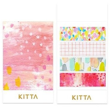 [Pre-order / Shipped on/after Sep. 30th] KITTA Clear Stickers - Drops