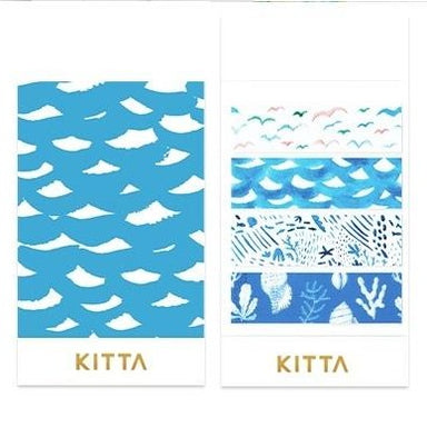 [Pre-order / Shipped on/after Sep. 30th] KITTA Clear Stickers - By the Sea
